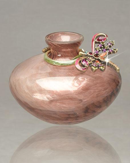 """Aime"" Dragonfly Mini Vase"