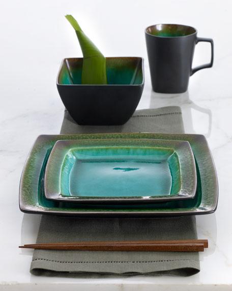 16-Piece Reactive Glaze Dinnerware Service