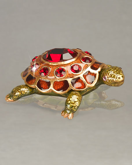 Turtle Birthstone Box