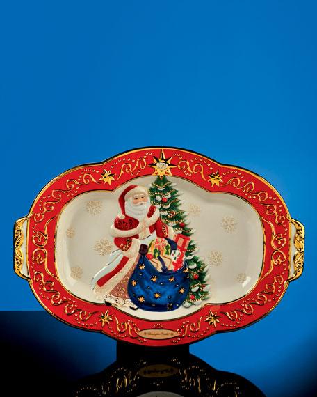 25th Anniversary Christmas Platter