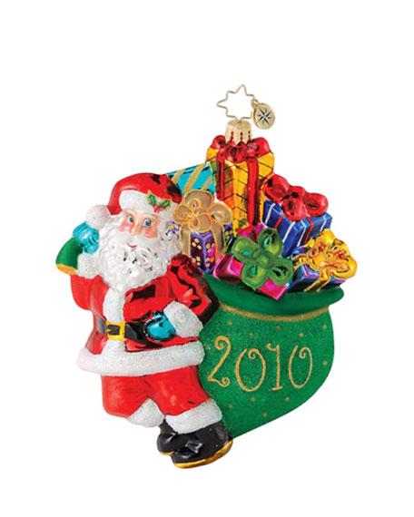 """Yearly Rush"" Christmas Ornament"