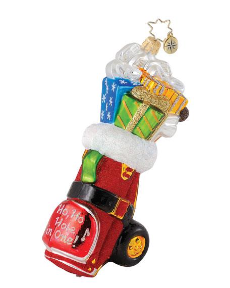 """""""Ho, Ho Hole in One!"""" Christmas Ornament"""