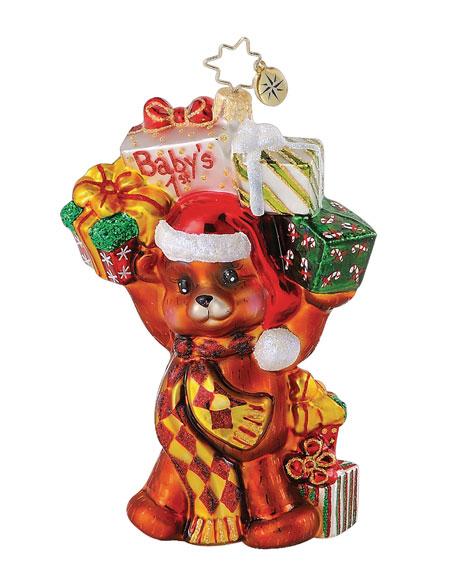 """Bouncing Baby Bear"" Christmas Ornament"