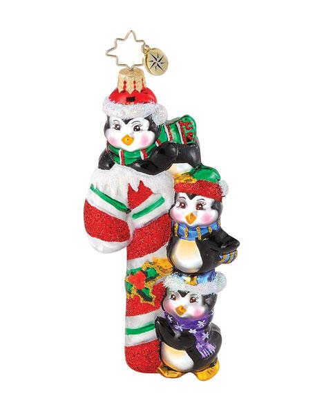 """Candy Cane Club"" Christmas Ornament"
