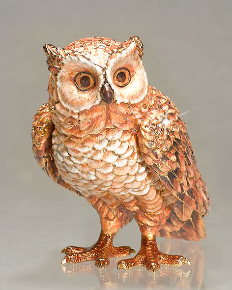 """""""Osgar"""" Owl Figurine"""