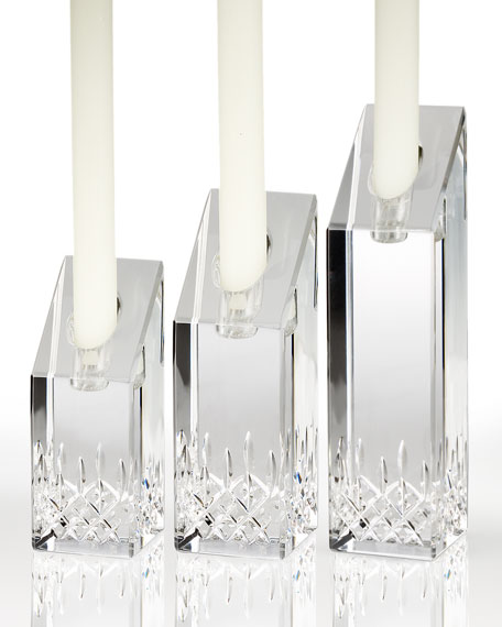 """Lismore Essence"" Candlesticks"
