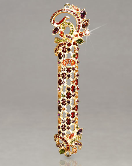 """Shemarya"" Jewelled Latticework Mezuzah"