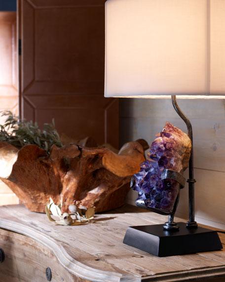 Amethyst Table Lamp