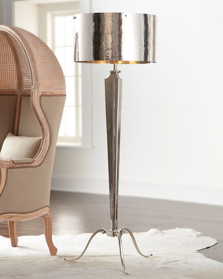 Hammered Floor Lamp