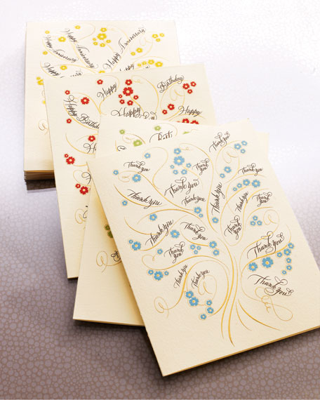 Tree Collection Folded Card Mixed Set