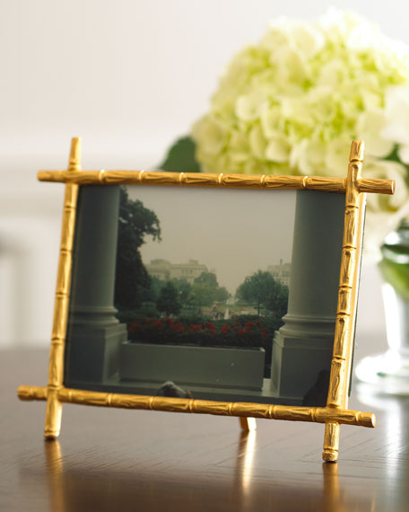 """Bamboo"" Photo Frame"
