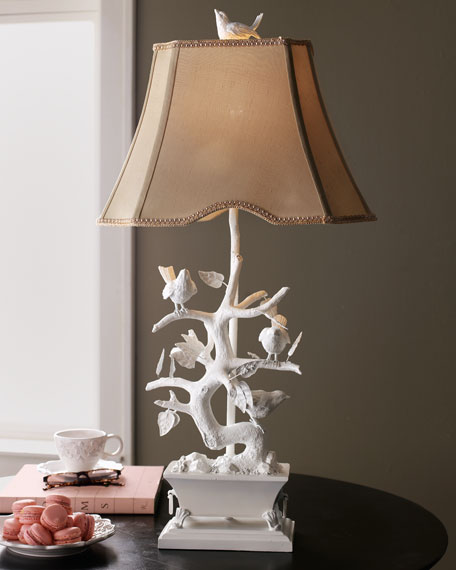 """White Bird"" Lamp"