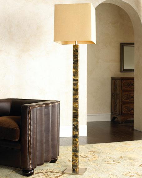 Faux Horn Floor Lamp