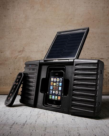 Solar-Powered Docking Station