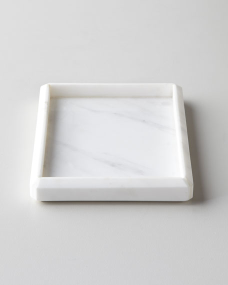 Waterworks Studio Marble Soap Dish