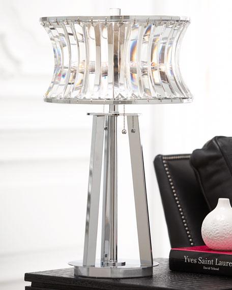 Crystal Shade Table Lamp