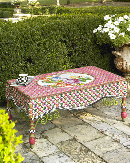 """""""Flower Market"""" Coffee Table"""