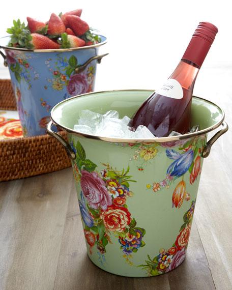 """Flower Market"" Wine Cooler"