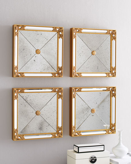 Mirrored Wall Squares