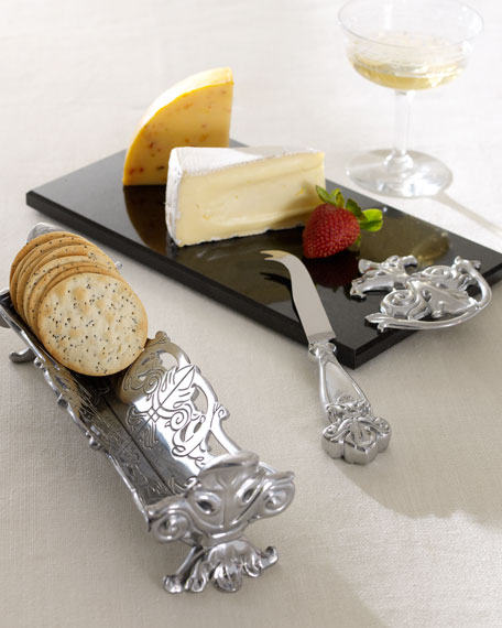 Three-Piece Cheese & Cracker Serving Set