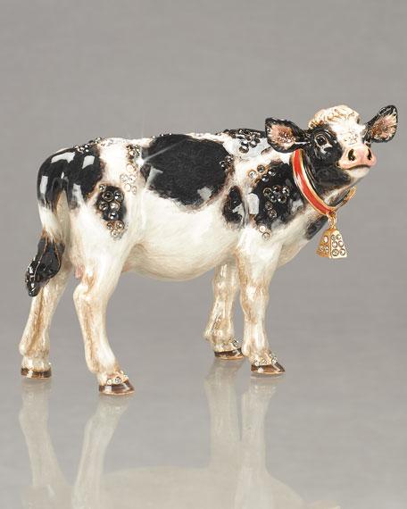 """""""Elsie"""" Cow Figurine"""