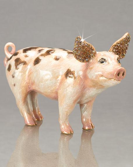 """""""Wilber"""" Pig Figurine"""