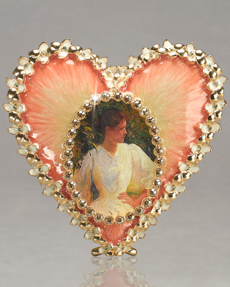 """Dominique"" Oval Heart Frame"