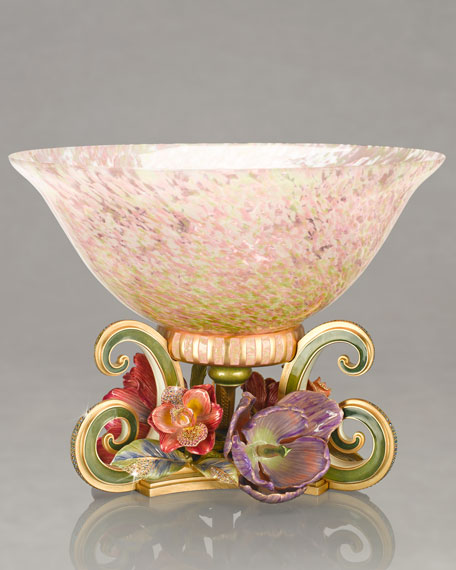 """""""Cossette"""" Bowl on Bouquet Stand"""
