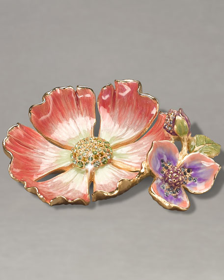 """Maya"" Flower Trinket Tray"