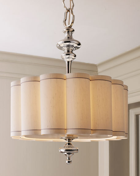 Scalloped Shade Chandelier