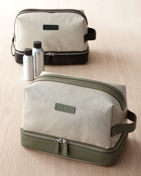 Dopp Kit with Wet/Dry Compartment