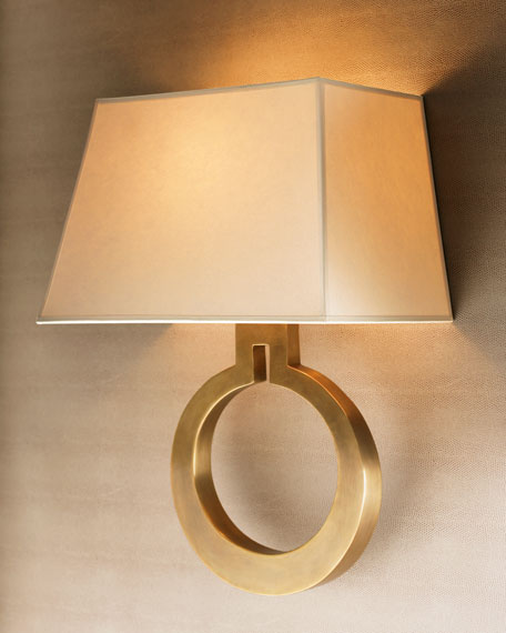 """Golden Ring"" Sconce"