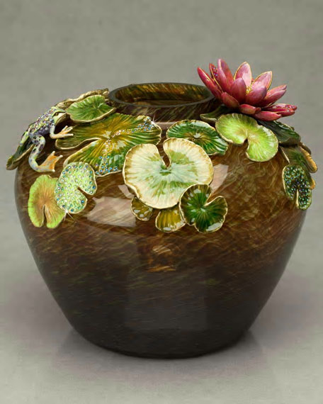 """""""Lily"""" Lily Pad Vase"""