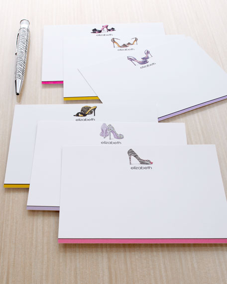 "12 ""Fashion Shoe"" Cards & Envelopes"