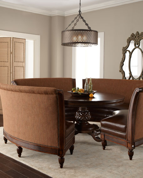 "Banquette Tables: Massoud ""Hudson"" Banquette"