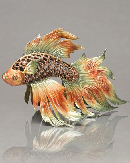 Namiko Japanese Fighting Fish Figurine