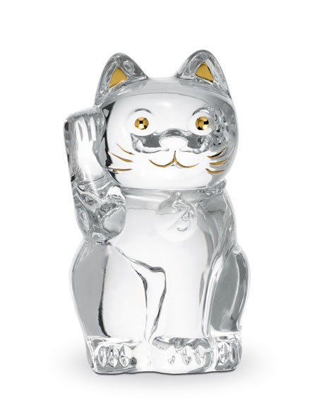 """Lucky Cat,"" Clear"