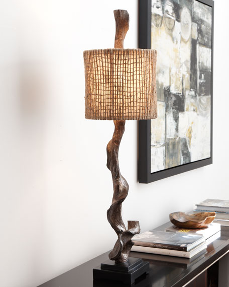 """""""Driftwood"""" Table Lamp"""
