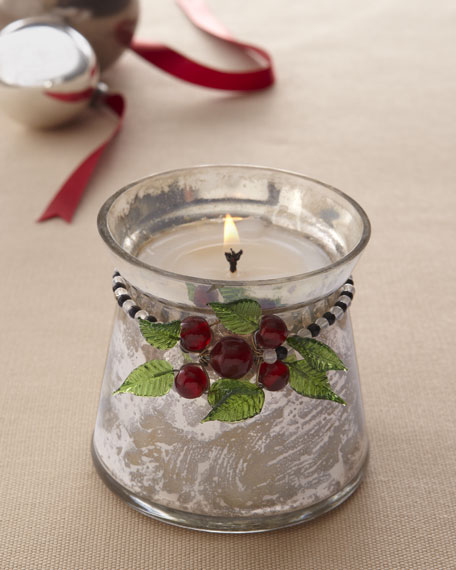 """Woodland"" Holiday Candle"
