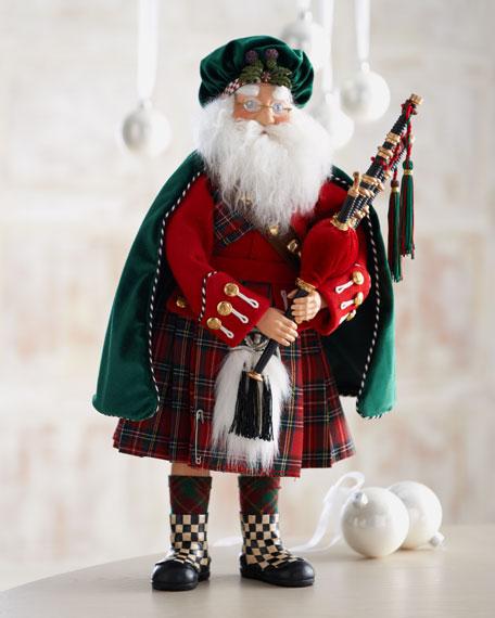 """""""Piper"""" Santa Figure"""