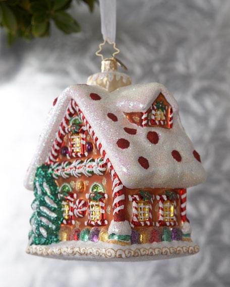 """Tasty Tudor"" Gingerbread Ornament"