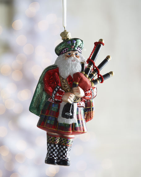 """Piper Santa"" Ornament"