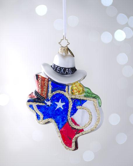 """""""Texas Hold 'Em"""" Christmas Ornament"""