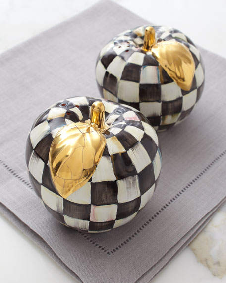 Courtly Check Apple Salt & Pepper Shakers