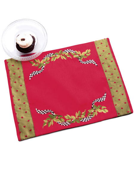 Holly & Berry Place Mat