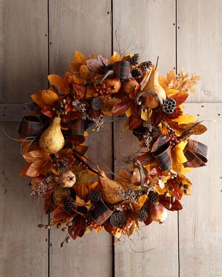 "28"" Autumn Wreath"
