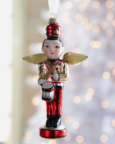 """""""Angel of the Christmas Toys"""" Ornament"""