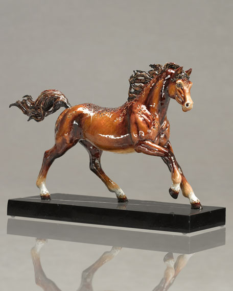 """Kuhaylah"" Horse Figurine"