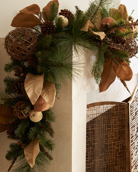 """Country Estate"" Christmas Garland"