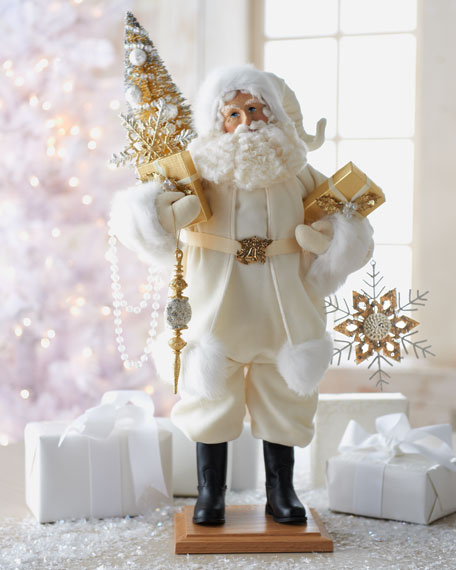 """Winter's Touch"" Santa Figure"